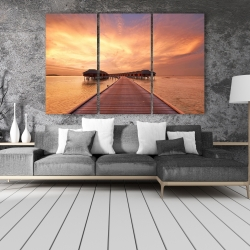 Canvas 40 x 60 - Sea villas