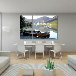Canvas 40 x 60 - Adventure awaits