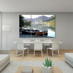 Canvas 40 x 60 - Adventure awaits