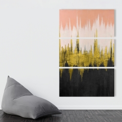 Canvas 40 x 60 - Abstract zigzag