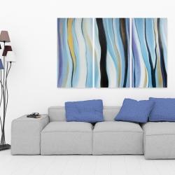 Toile 40 x 60 - Humeur bleu