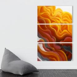 Canvas 40 x 60 - Colorful smoke