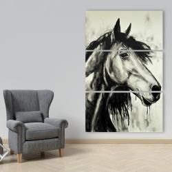 Toile 40 x 60 - Cheval spirit