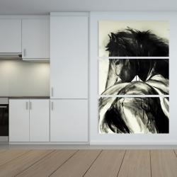 Canvas 40 x 60 - Classical horse