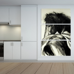 Canvas 40 x 60 - Classical horse