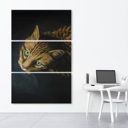 Canvas 40 x 60 - Bengal cat