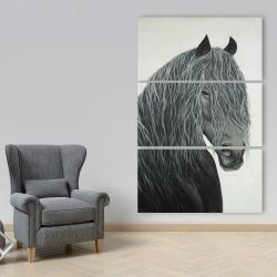 Canvas 40 x 60 - Wild heart horse