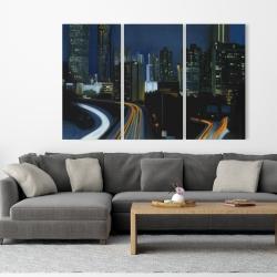 Canvas 40 x 60 - Atlanta at night