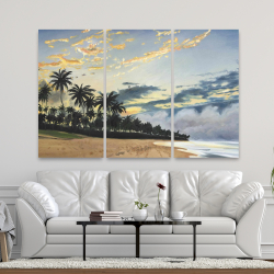 Canvas 40 x 60 - Tropical summer moments