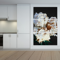 Canvas 40 x 60 - Bouquet of spring flowers