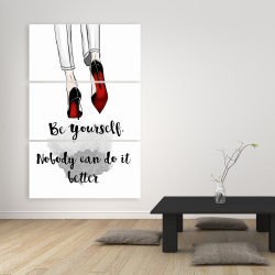 Canvas 40 x 60 - Be yourself