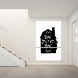 Canvas 40 x 60 - Home sweet home