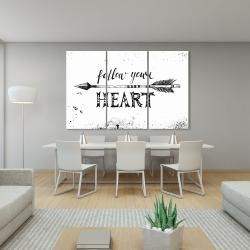 Canvas 40 x 60 - Follow your heart