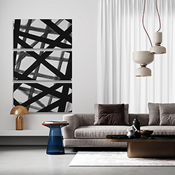 Canvas 40 x 60 - Abstract bold lines