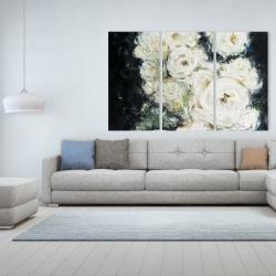 Canvas 40 x 60 - Garden roses