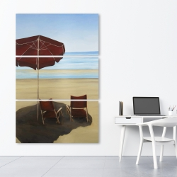 Canvas 40 x 60 - Relax at the beach