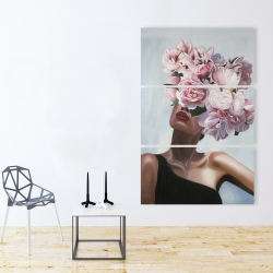 Canvas 40 x 60 - See life in flowers