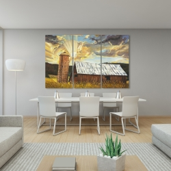 Canvas 40 x 60 - Hay barn