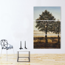 Canvas 40 x 60 - Trees in the countryside