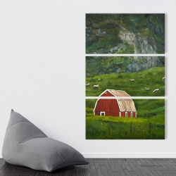 Canvas 40 x 60 - Life in the countryside