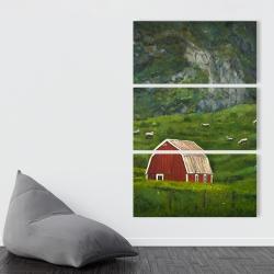 Toile 40 x 60 - Vie à la campagne