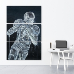 Canvas 40 x 60 - Football player