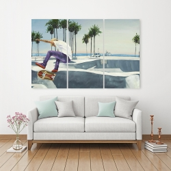 Canvas 40 x 60 - Skate park california
