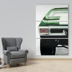 Canvas 40 x 60 - Classic dark green car