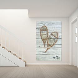 Canvas 40 x 60 - Snowshoes