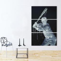 Canvas 40 x 60 - Baseball player