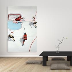 Canvas 40 x 60 - Eventful hockey game