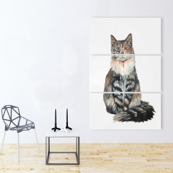 Canvas 40 x 60 - Norwegian forest cat