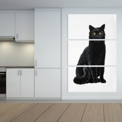 Canvas 40 x 60 - Black cat