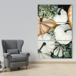 Canvas 40 x 60 - Fall pumpkins