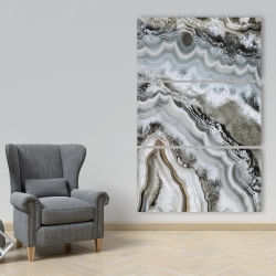 Canvas 40 x 60 - Abstract geode