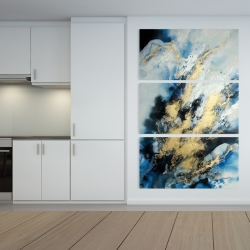Canvas 40 x 60 - Blue marble
