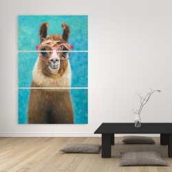 Canvas 40 x 60 - Lovable llama