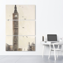Canvas 40 x 60 - Big ben in london