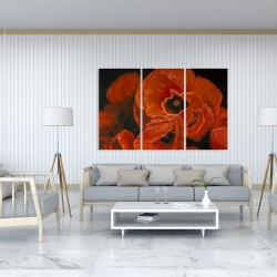 Canvas 40 x 60 - Poppy bouquet