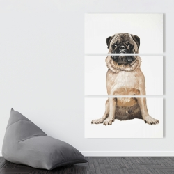 Canvas 40 x 60 - Pug