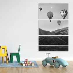 Canvas 40 x 60 - Air balloon landscape