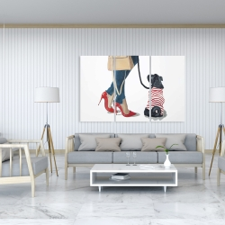 Canvas 40 x 60 - Best friends fashion