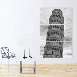 Canvas 40 x 60 - Tower of pisa in italy