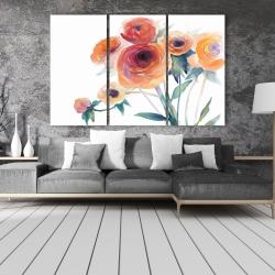 Canvas 40 x 60 - Watercolor flowers