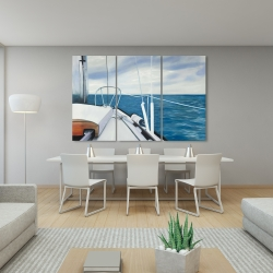 Canvas 40 x 60 - Sail on the water