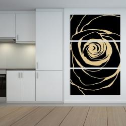 Canvas 40 x 60 - Black rose