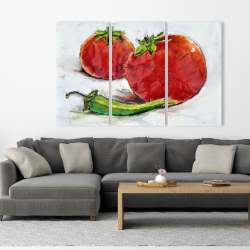 Canvas 40 x 60 - Tomatoes with jalapeño