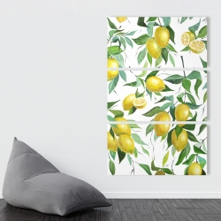 Canvas 40 x 60 - Lemon pattern