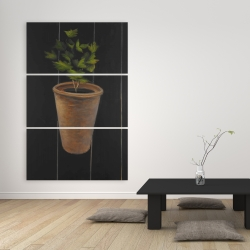 Canvas 40 x 60 - Plant of parsley