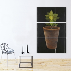 Canvas 40 x 60 - Plant of bay leaves